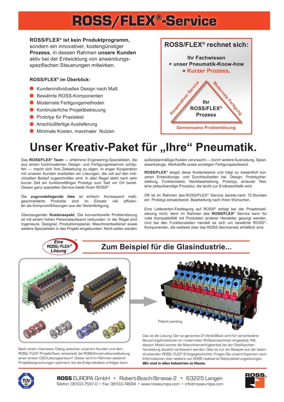 ROSS/FLEX® - Profil - ROSS EUROPA - PDF Katalog | technische ...