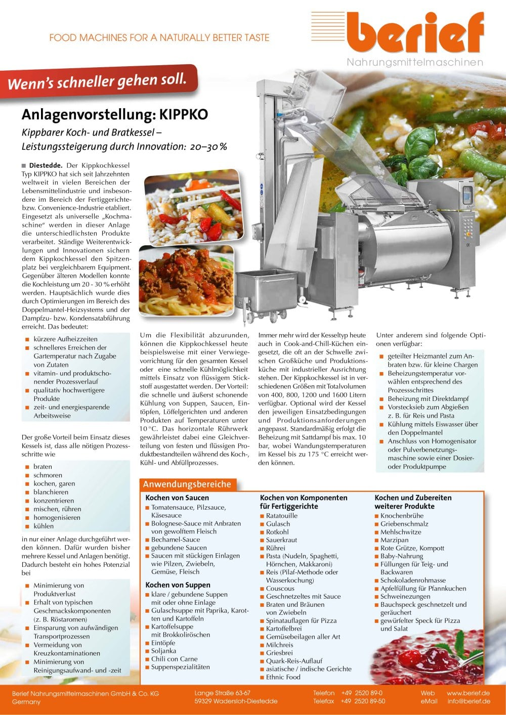 Anlagenvorstellung: KIPPKO Kippbarer Koch- und Bratkessel ...