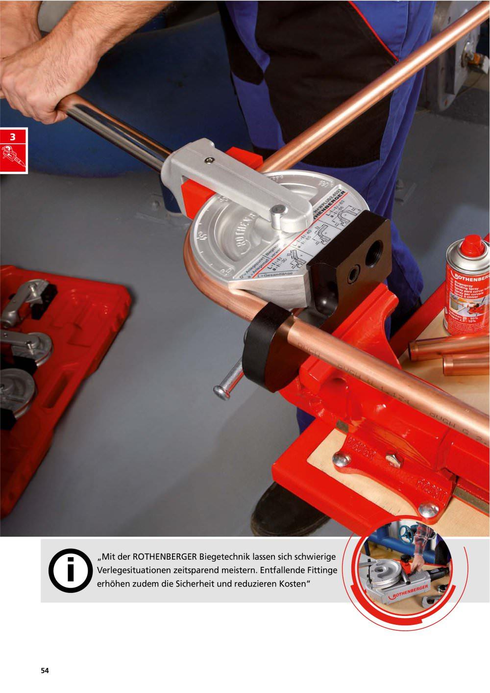 Komplett Neu ROTHENBERGER Kapitel 2014/15 Biegen - ROTHENBERGER - PDF Katalog  OY28
