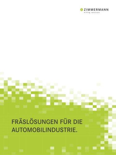 F. Zimmermann  Branchenprospekt Automobilindustrie