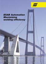 ESAB Automation - maximising welding efficiency