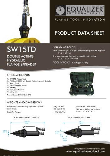 SW15TD Flanschspreizer 15T Doppelwirkend