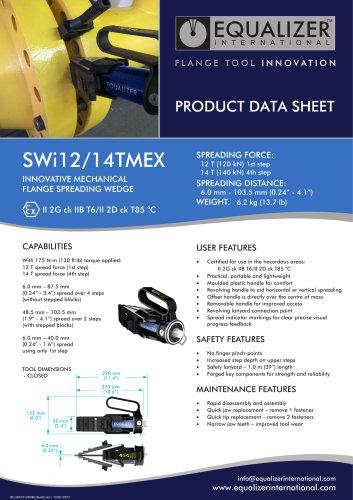 SWI1214TMEX ATEX Flanschspreizer