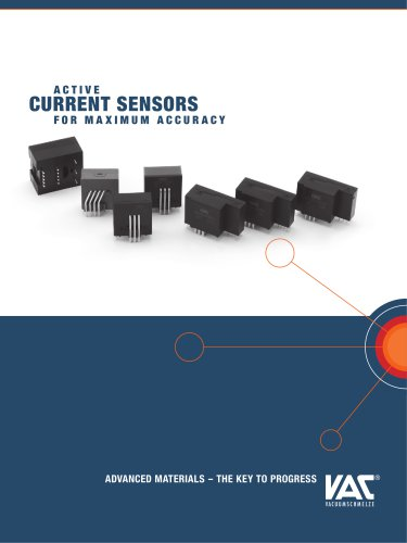 ACTIVE CURRENT SENSORS FOR MAXIMUM ACCURACY