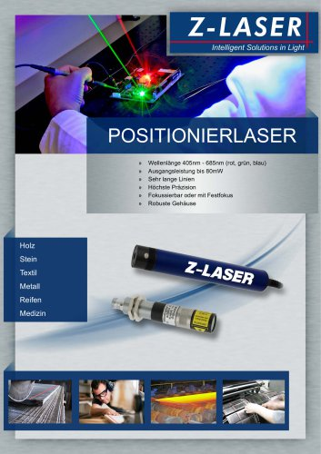 Linienlaser / Positionierlaser