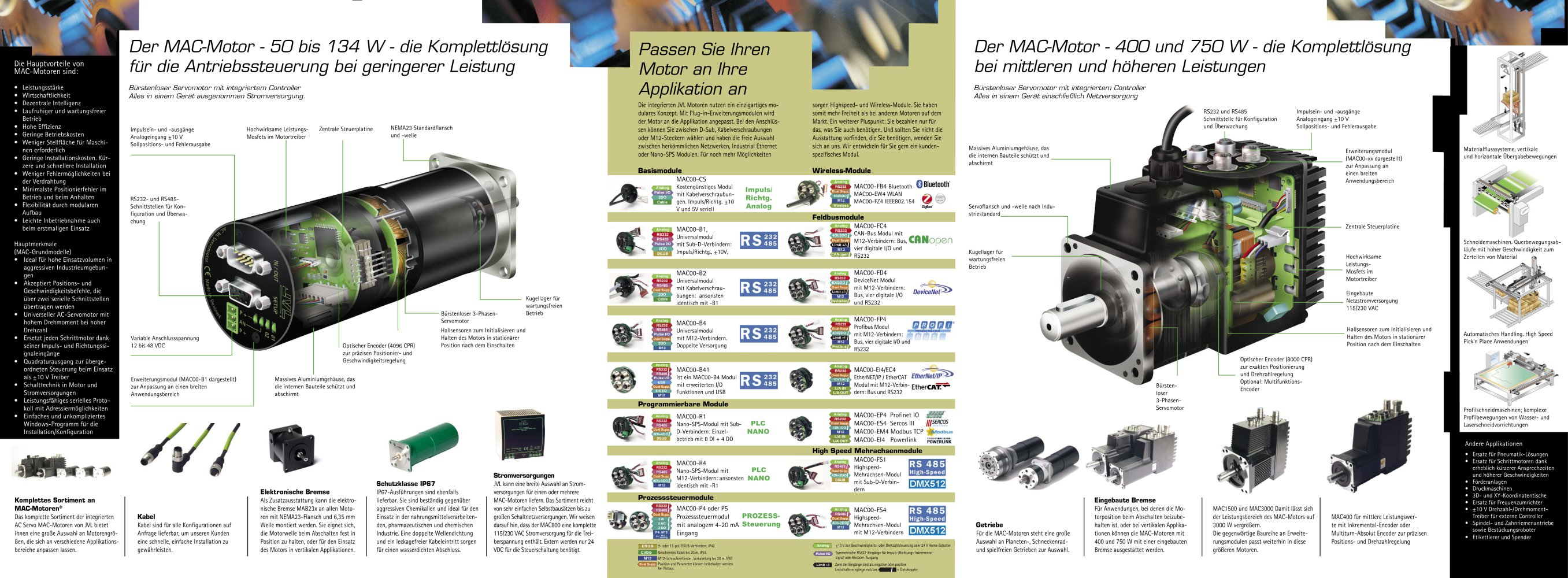 Mac Motor brochure - JVL - PDF Katalog   technische Unterlagen ...