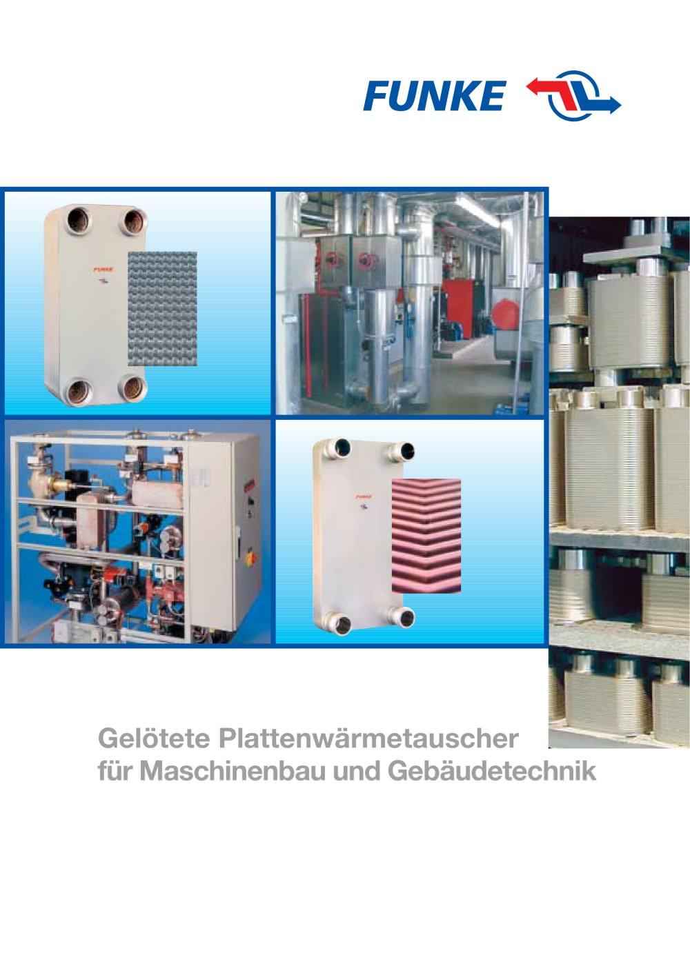 Gelötete Plattenwärmetauscher - Funke - PDF Katalog   technische ...