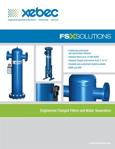 Air Filtration and Separation FSX Solutions