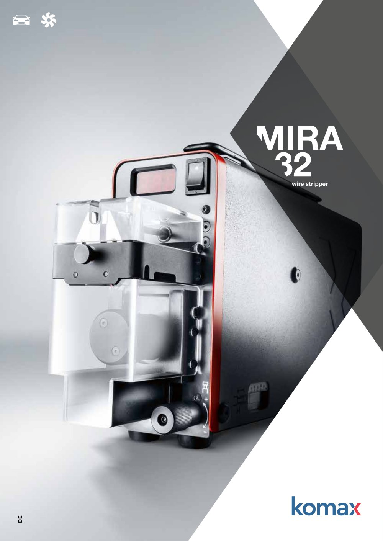 Mira 32 - Komax - PDF Katalog | technische Unterlagen | Prospekt