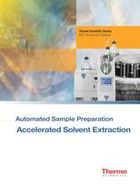 ASE Series Accelerated Solvent Extractors Brochure