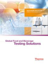 Capillary Ion Chromatography Global Food and Beverage Testing Solutions