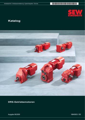 DR Gearmotor Katalog 2008