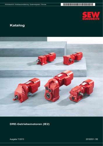 Getriebemotoren DRE.. (IE2)