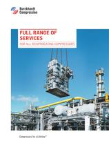 Full range of services - for all reciprocating compressors