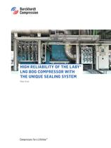 High Reliability of the Laby LNG Bog Compressor with the unique sealing system