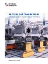 Process gas Compressors - API 618 Designed for lowes life cycle costs