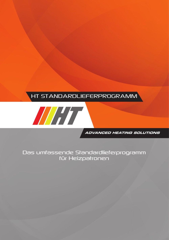 Standard Lieferprogramm - HT SpA - PDF Katalog | technische ...