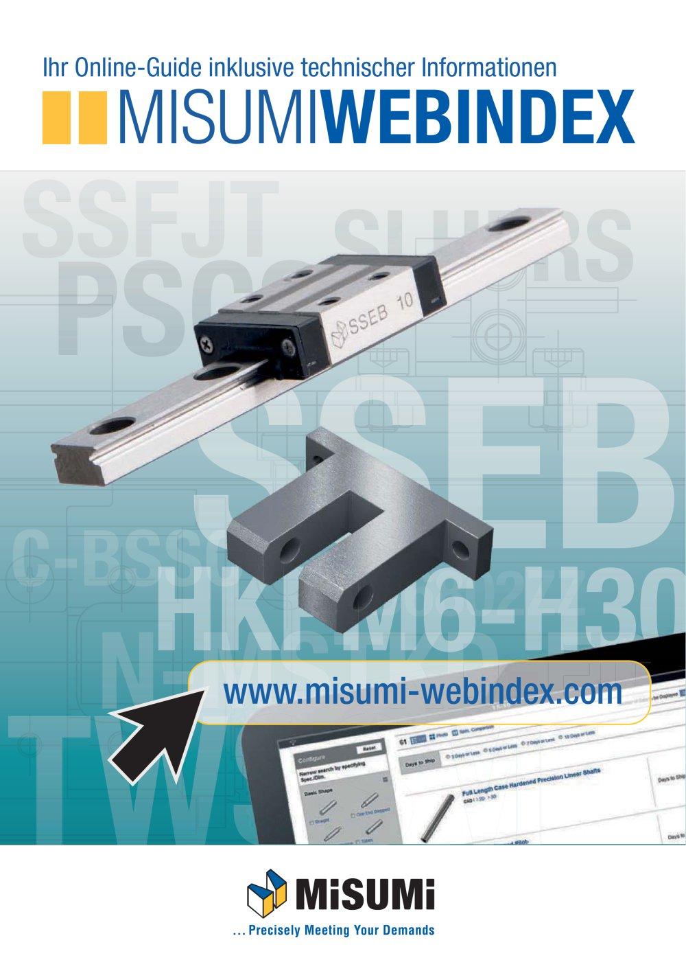 MISUMIWEBINDEX - Ihr Online-Guide inklusive technischer ...