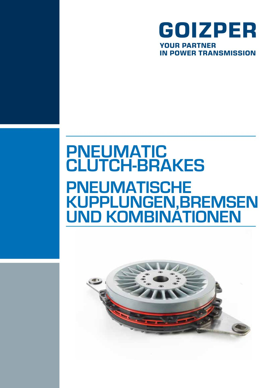 pneumatische bremsen und kupplungen