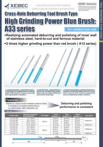 XEBEC Brush Crosshole (High Grinding Power Blue Brush)
