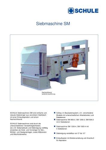 Siebmaschine SM