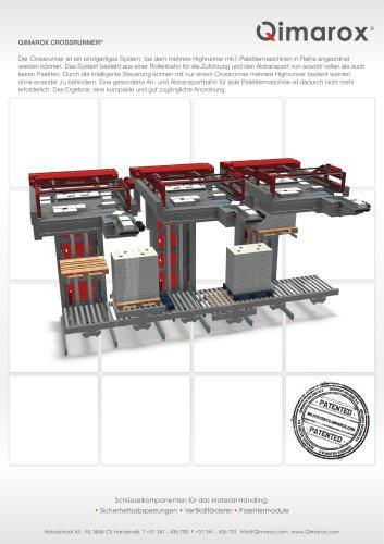 Crossrunner mk7 Palettiermaschine