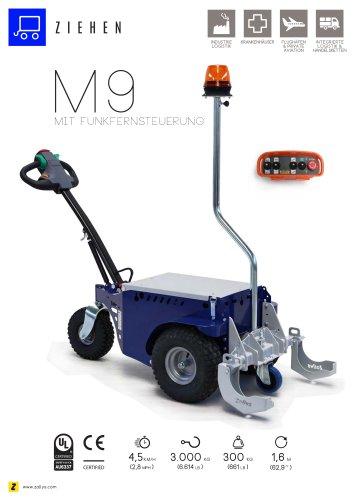 M9 Elektroschlepper mit Fernsteuerung