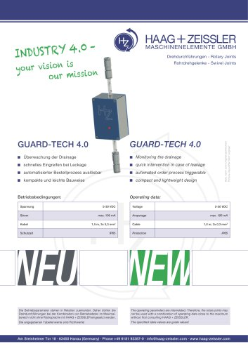 Sensorlager, Guard-Tech 4.0