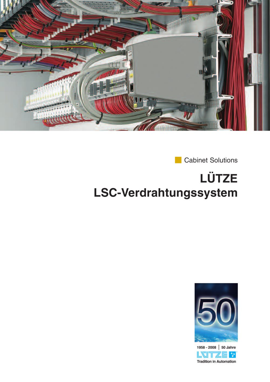 LÜTZE LSC-Verdrahtungssystem - LÜTZE - PDF Katalog | technische ...