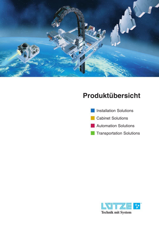 Produktübersicht - LÜTZE - PDF Katalog | technische Unterlagen ...