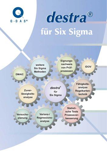 destra für Six Sigma