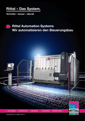 Rittal Automation Systems - RITTAL - PDF Katalog | technische ...