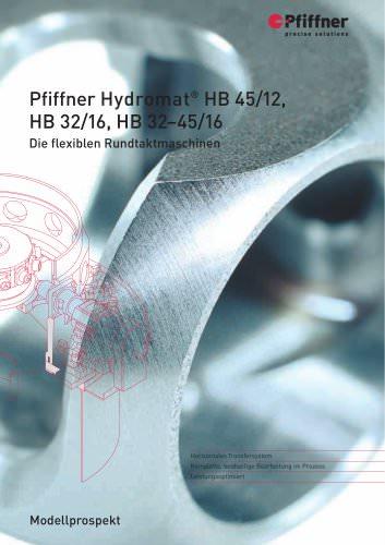 Hydromat HB32/16, HB32-45/16 und HB45/12