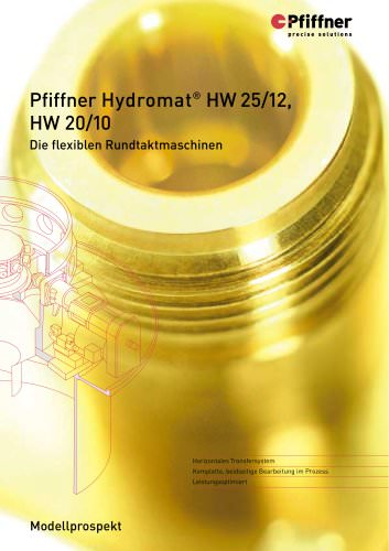 Hydromat HW20/10 und HW25/12