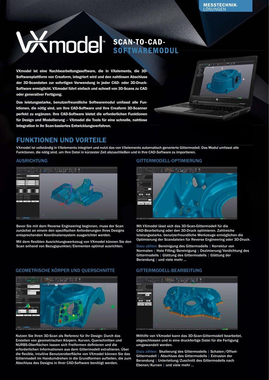 scanner bild zu 3d modellierung rohrleitung