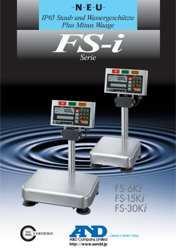 Waterproof Checkweighing Scales/FS-i Series