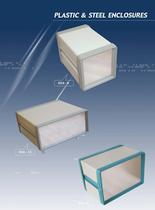 plastic & steel enclosures
