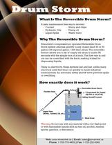 Reversible Drum Storm Vacuum