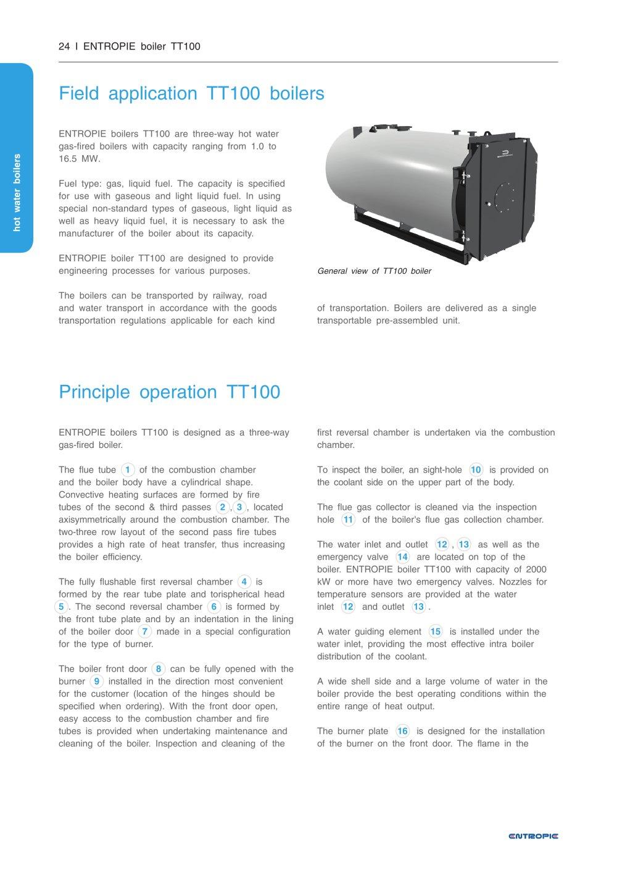 TT100 boilers - Entropie Heizungssysteme - PDF Katalog   technische ...