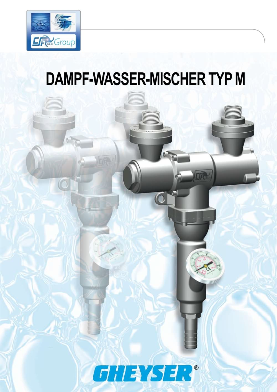 Mischer Wasser Wasserdampf Csf Inox Spa Pdf Katalog Technische