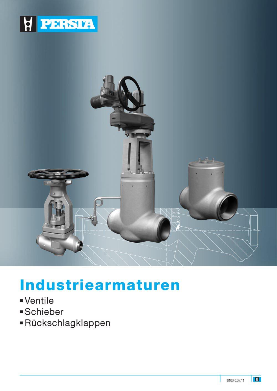 Armaturen industrie  Industrie armaturen - Stahl-Armaturen PERSTA - PDF Katalog ...