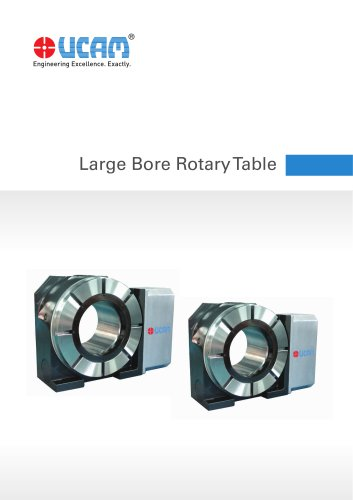 Large Bore Rotary Table