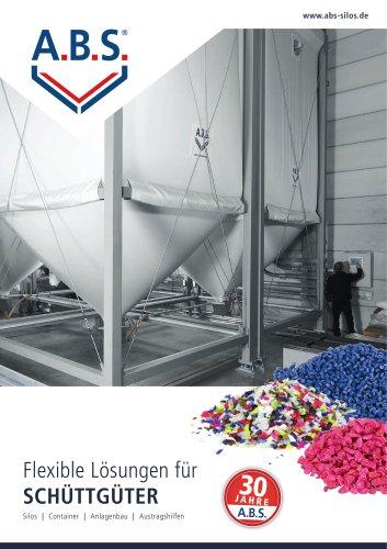 Product brochure: Flexible Solutions for bulk goods