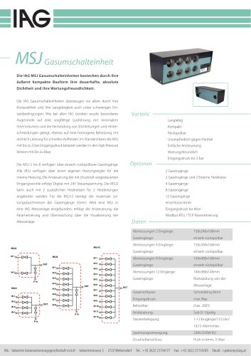 MSJ-Umschalteinheiten