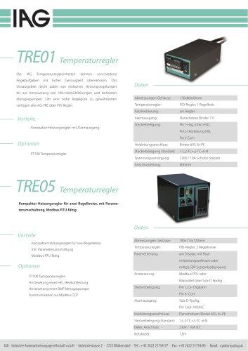 TRE-Temperaturregeleinheiten