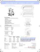 Alpha 14+ Liquid Ring Pump Datasheet