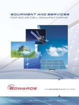 Equipment and Services for Solar Cell Manufacturing brochure