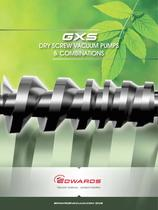 GXS Dry Screw Pumps & Combinations
