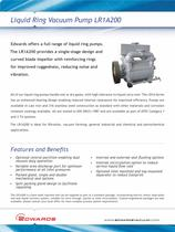 LR1A200 Liquid Ring Pump datasheet