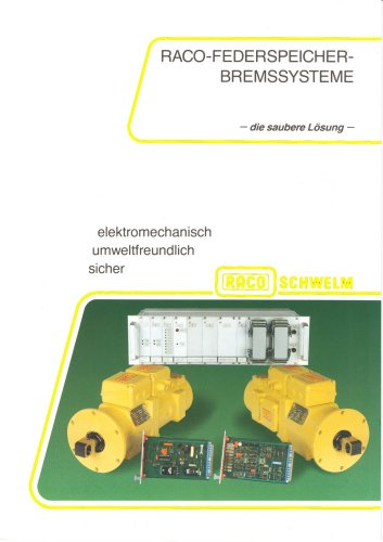 RACO Federspeicherbremsgeräte - die sichere Lösung